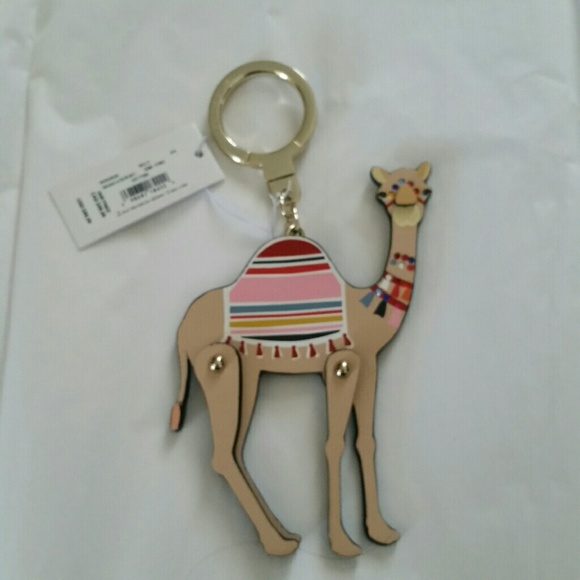 Kate Spade Moveable Camel Key Chain 9b0cf43c7
